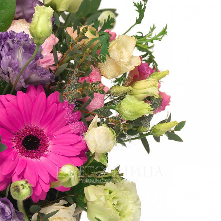 Доставить Корзина «Цветочное письмо»