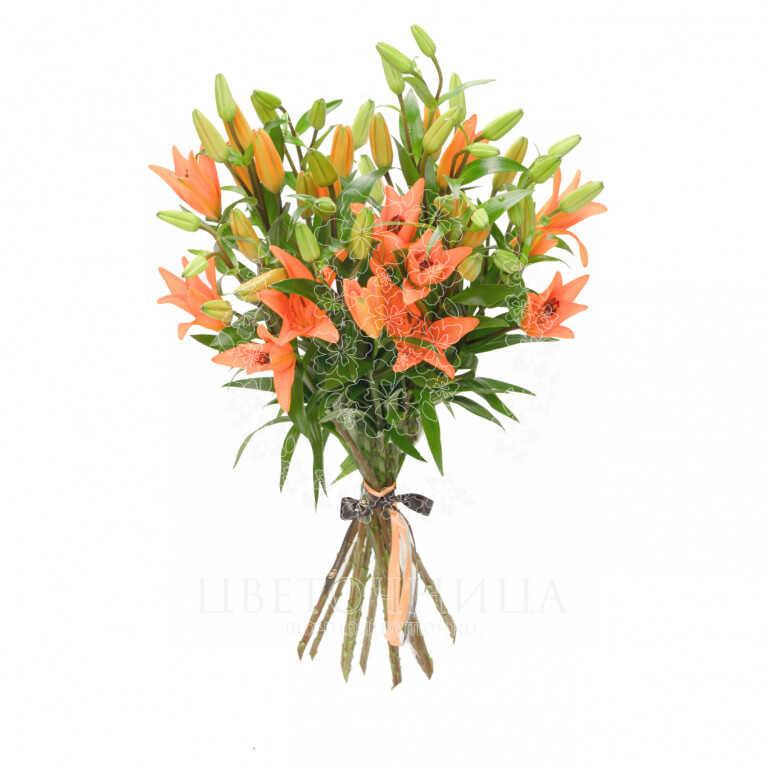 Заказать Букет «Оранжевое лето»