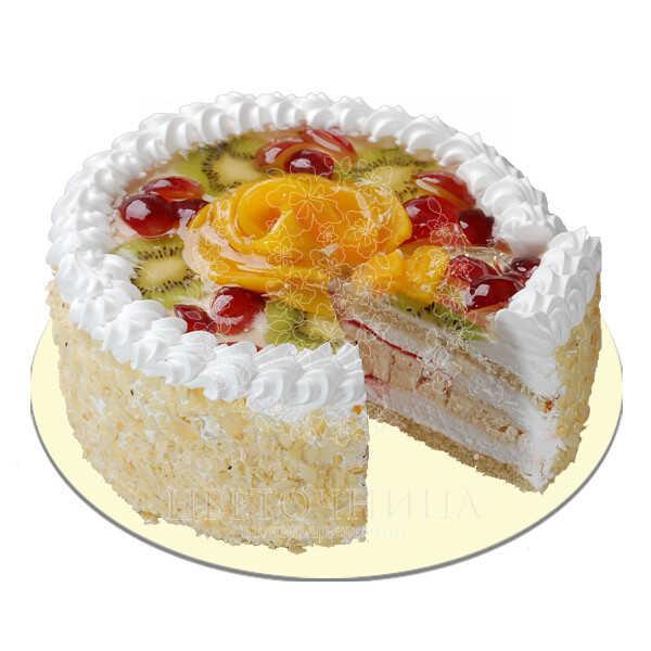Заказать Торт «Торт с фруктами»