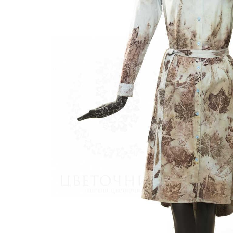 Доставить Эко-одежда «Платье-рубашка»