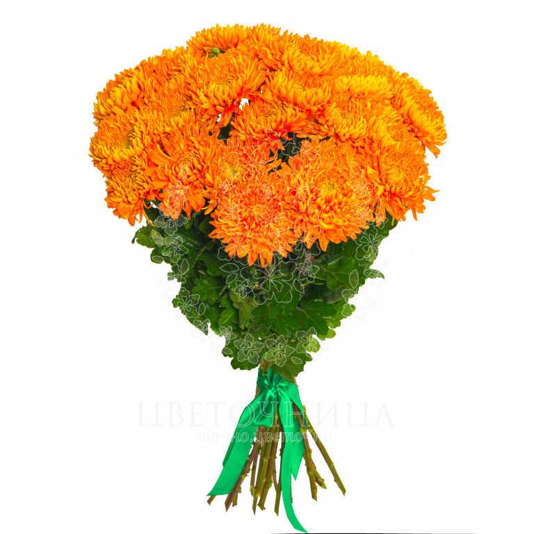 Заказать Букет «Оранжевое облако»