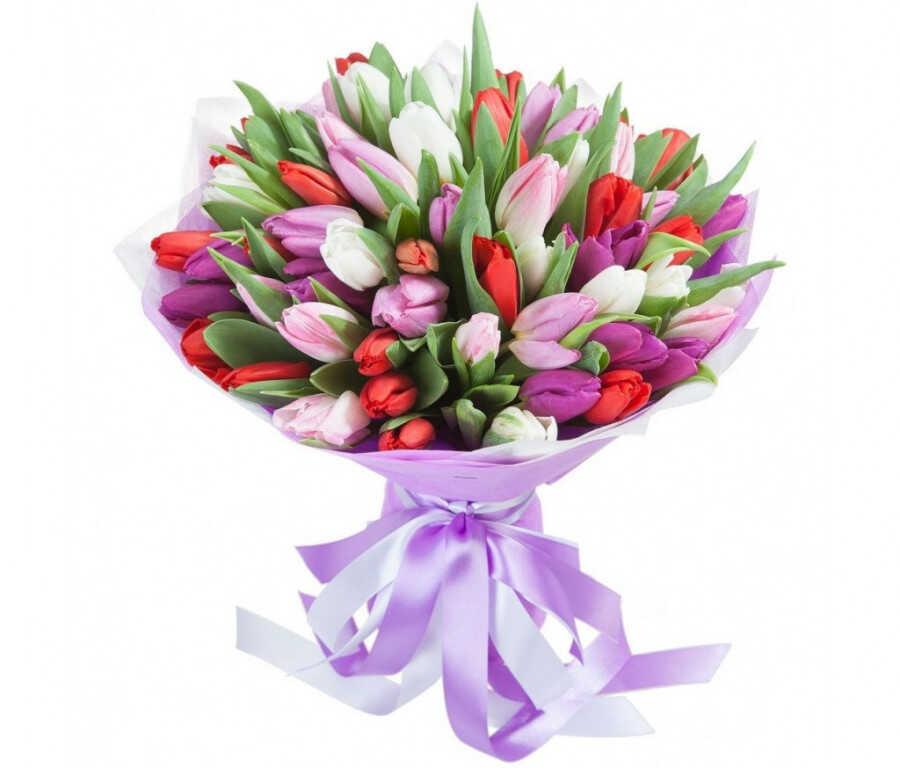 Заказать Букет «Дарите нам цветы»