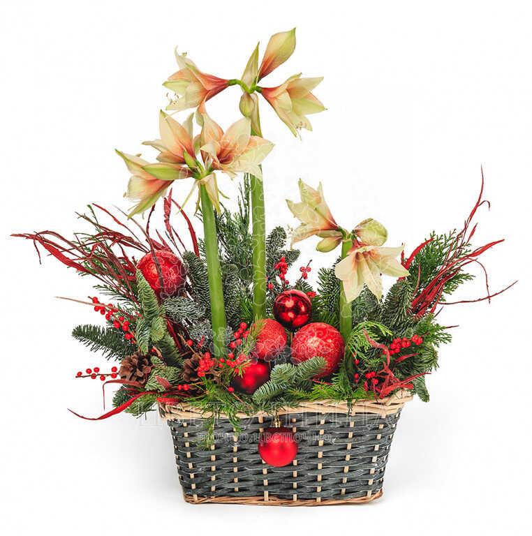 Заказать Корзина «Значит скоро Новый Год»