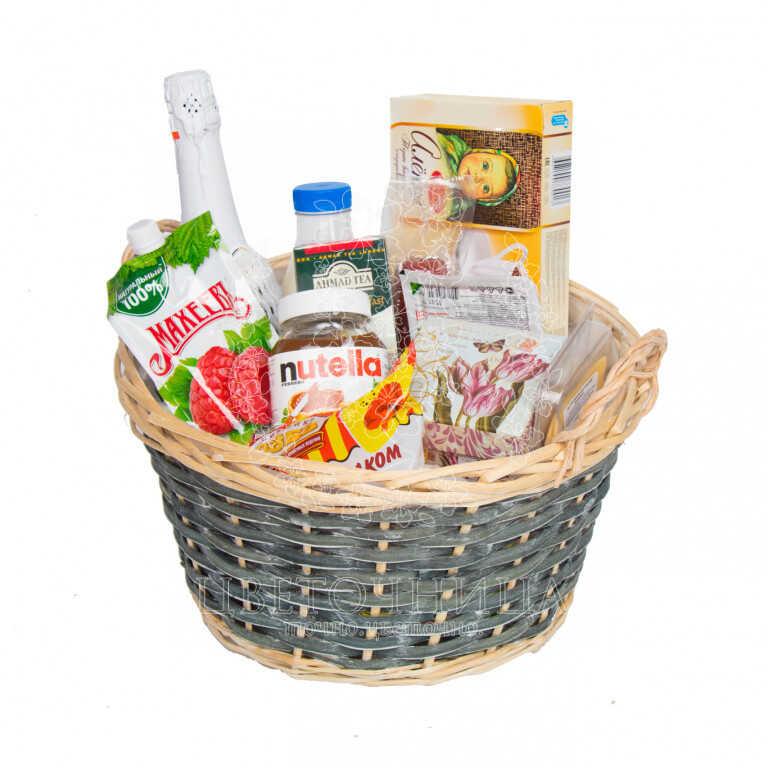 Заказать Корзина с продуктами «На здоровье»