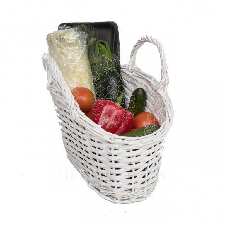 Заказать Корзина с продуктами «Овощная корзинка»