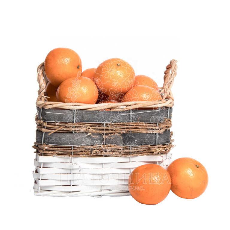 Заказать Корзина с продуктами «Оранжевое настроение»