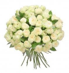 Букет «Первосортные белые розы»