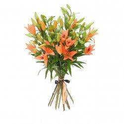 Букет «Оранжевое лето»
